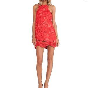 Lovers + Friends Caspian Lace Shift Dress